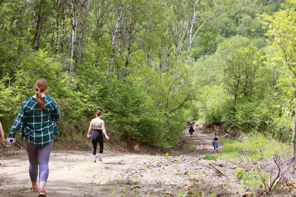 hiking in the qu'appelle valley